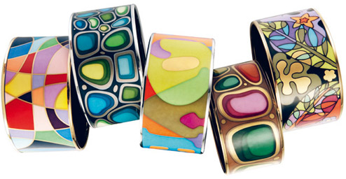Colourful jewelry from Frey Wille