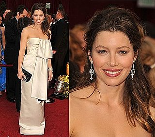 Jessica Biel at the Oscars Red Carpet