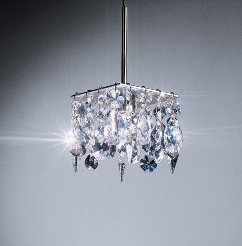 The Bruck Lighting Cristello Light ($627) will make a shining statement in your home.