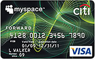 MySpace Credit Card Encourages Paying on Time