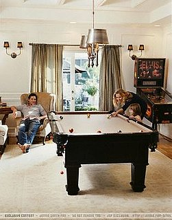Ask Casa: Jennie Garth's Pool Table