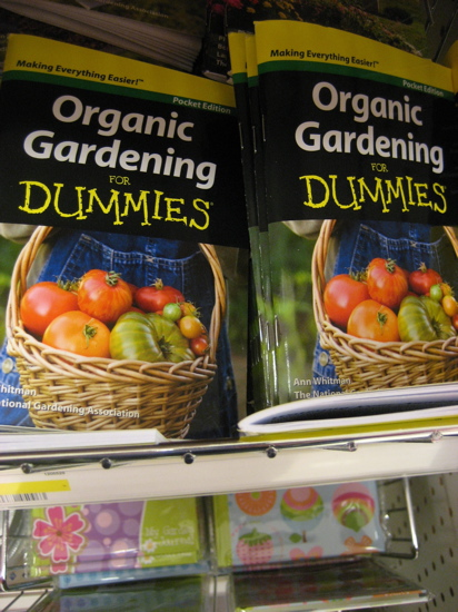 Need some help on your garden? Then pick up an organic gardening manual for $1.