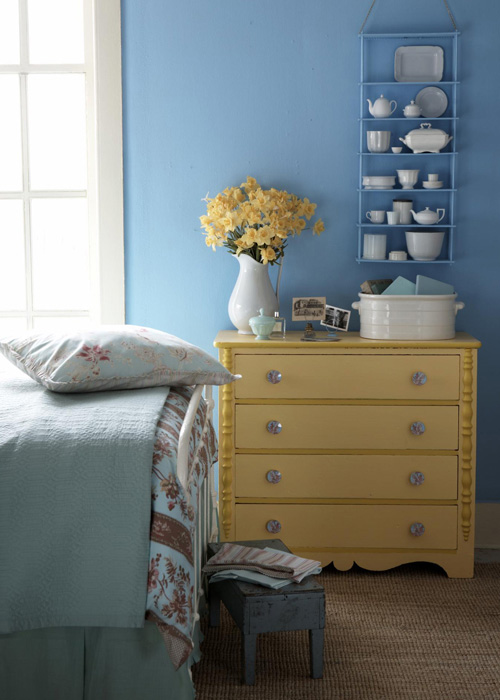 Country Home inspires with a $49 dresser makeover.