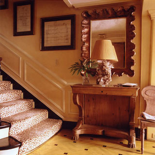 Love It or Hate It? Leopard Print Staircase