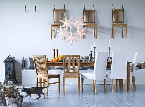 Love It or Hate It? Spare Seating Hung on the Wall