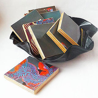 Etsy Find: Recycled Album Jacket Coasters