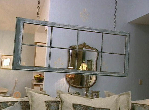 Alternately, use just one frame to make a statement.  Source