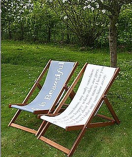 Nice and New: Life Is Beautiful Deck Chair