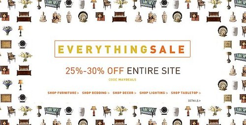 Sale Alert: Horchow Everything Sale