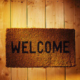 Put Out a Welcome Mat (About $30)
