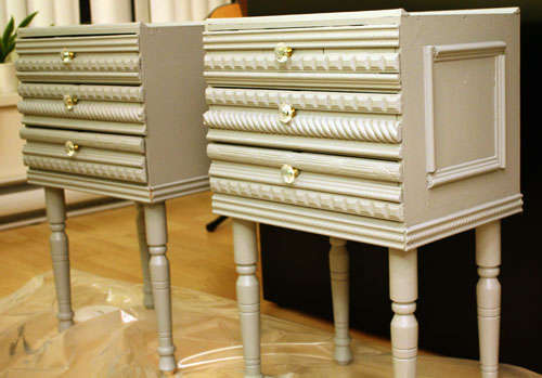 Instructables shows you how to DIY some Anthropologie-style bedside tables.