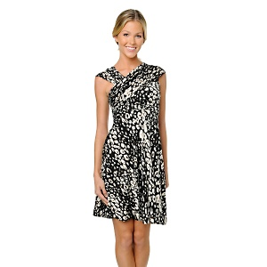 Corsage by Tracy Reese Draped-Bodice Jersey Frock, HSN.com, $89.90
