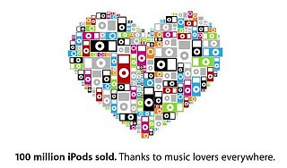 Sugar Shout Out: 100 Million iPods Sold