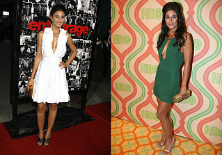 Entourage's Emmanuelle Chriqui Dishes About Her Favorite Designers