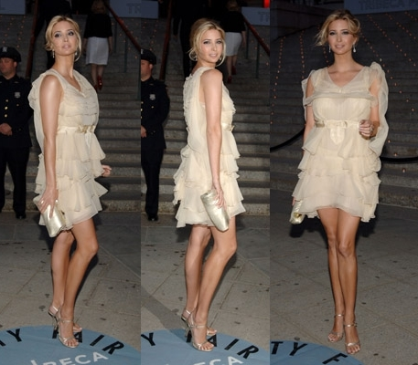 Hot or Not: Rate Ivanka's party dress