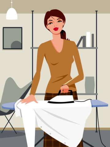 The How-To Lounge: Ironing