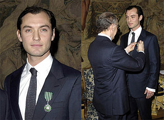 Jude Law is Huge in France