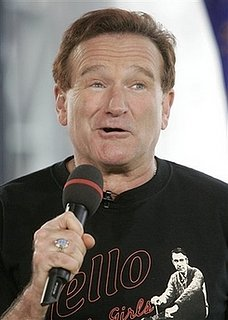 Robin Williams Hanging with Mel