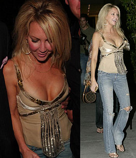 Heather Locklear Hangs Out