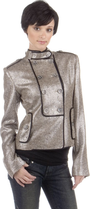 Adam + Eve Silver Military Jacket: Love It or Hate It?
