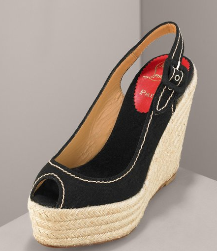 The Look for Less: Christian Louboutin Espadrilles
