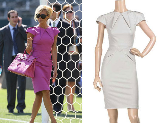 Found! Victoria Beckham's Roland Mouret Dress