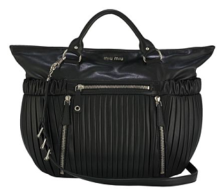 Miu Miu Pleated Leather Satchel: Love It or Hate It?