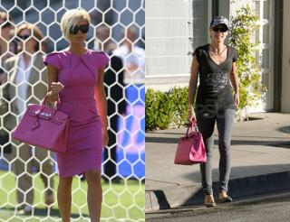Who Wore It Better? Fuchsia Hermes Birkin Bag