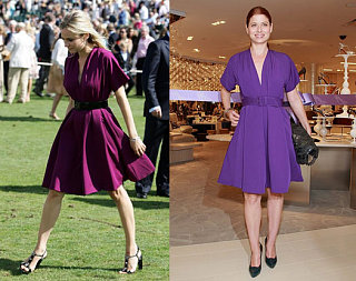 Who Wore It Better? Purple Jean-Paul Gaultier Dress