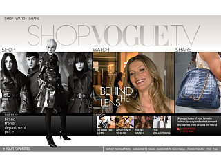 On Our Radar: ShopVogue.TV