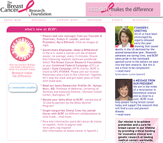 Fab Site: Breast Cancer Research Foundation