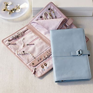 simply fab redenvelope leather jewelry portfolio