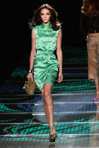 Milan Fashion Week, Spring 2008: Versace