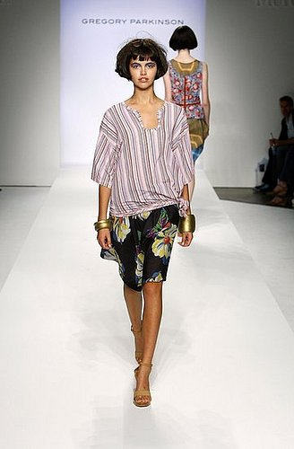 LA Fashion Week, Spring 2008: Gregory Parkinson
