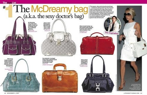 Doctor Doctor! I Need a Handbag Fix!
