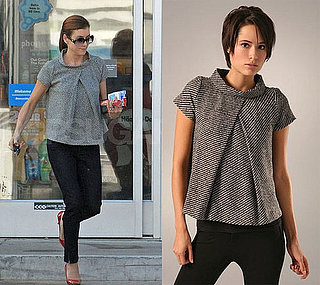 Found! Kate Walsh's Tweed Top