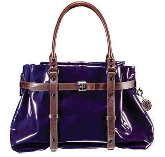 Guess Who Designed This Delectable Purple Patent Tote?