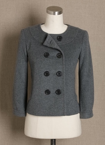 Fab Finger Discount! J.Crew Felted-Wool Pippa Jacket
