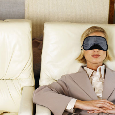 The How-To Lounge: Get Rest on a Red Eye Flight