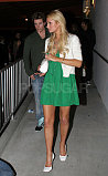 Paris Green Dress3