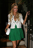 Paris green Dress5