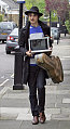 Pete Doherty Records Paparazzi With His MacBook