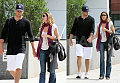 Tom & Gisele Take Their Purses for a Stroll