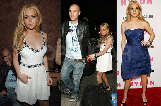 Lohan Is Super Duper Happy About Her NYLON Party