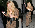 Mary-Kate Goes Wild at Kate Moss' Party