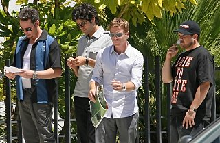 Entourage Boys Still On Set, Ready to Bring More Funny