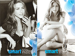 Jen Looks Nude & Busty In smartwater Ads