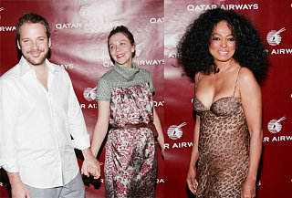 Celebs Fly High at Qatar Air Party