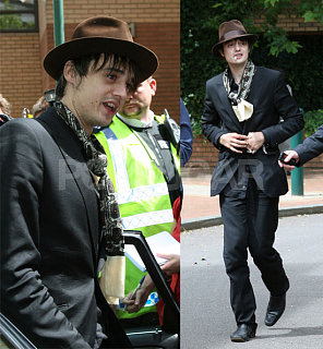 Pete Doherty Locked Out and Guilty