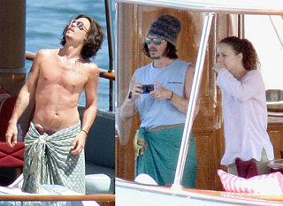Johnny Depp Makes Hot Summer Days Much More Enjoyable